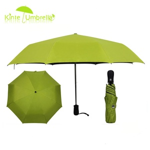 3 fold X 8 panels Wholesale promotional wind resistant umbrella
