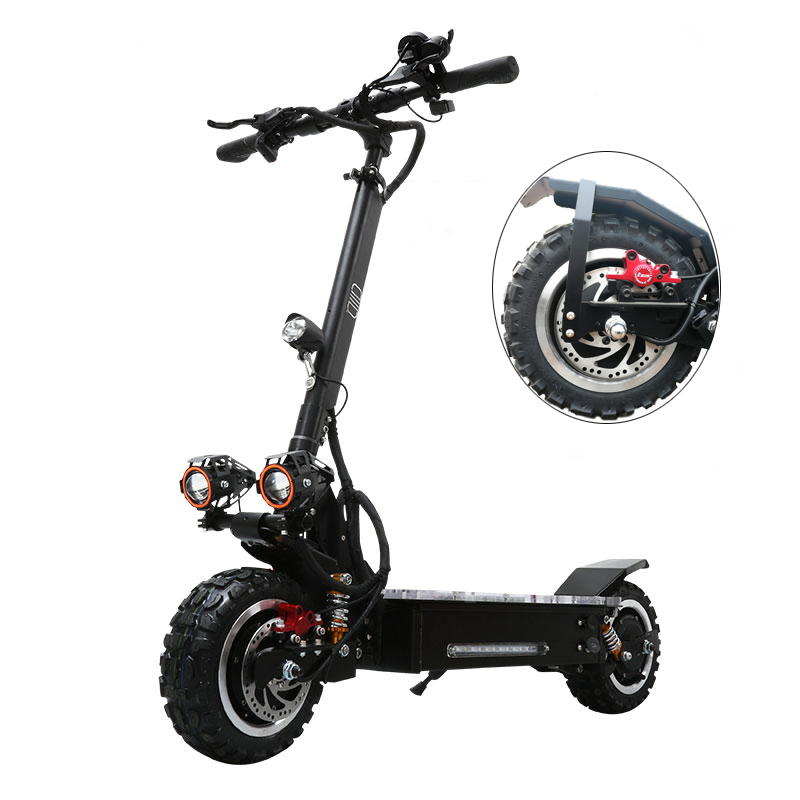 VICSOUND Professional Electric Scooter 11inch 3200W 60V With Seat For Adults