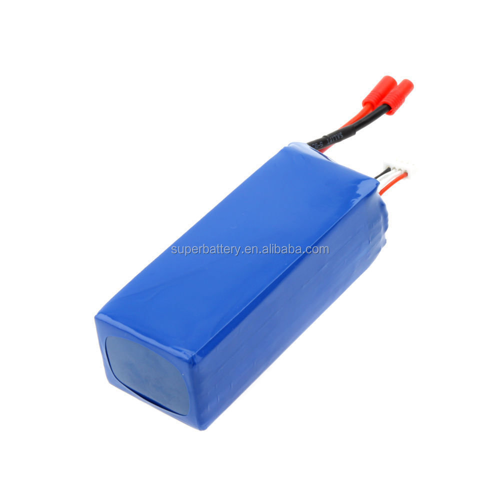 Spare LiPo Battery 11.1V 6600mAh Flight Time 20-25min for Walkera QR X350 Pro