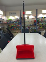 high quality lobby folding dustpan and angle broom set, dustpan and broom set