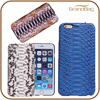 Hot sales luxury snakeskin leather phone case for Iphone6 genuine python leather cell mobile cover for Iphone wholesale