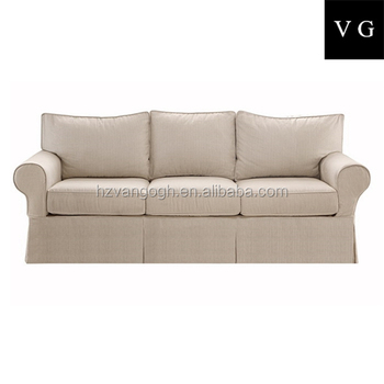 French Style Upholstered Sofa Fabric Rustic Antique French Style Sofa