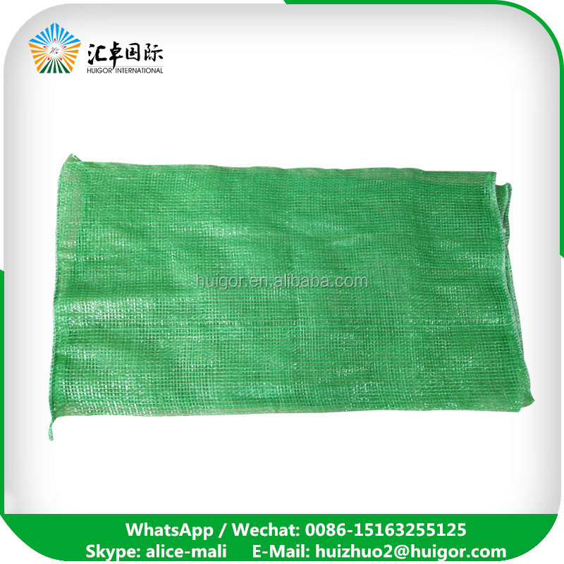Top Popular pp mesh bags 50kg for onions and potatoes / packing fruit and vegetable with OEM service