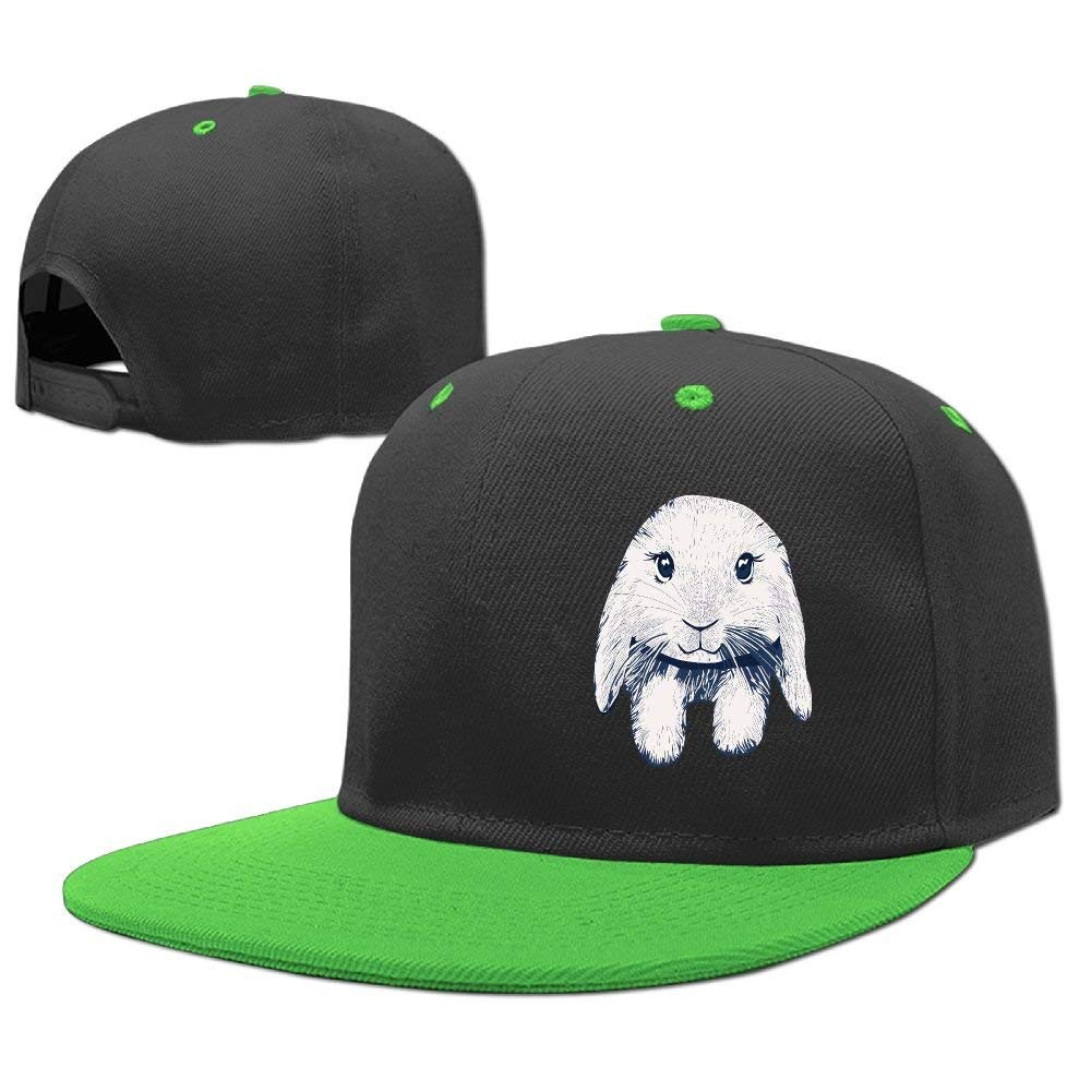 Get Quotations · Kids Loppy-Eared-Rabbit Adjustable Hip Hop Baseball Hat  Custom Cap for Children 1621d2b26da6