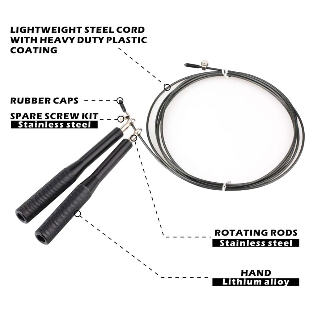 IUSummer Jump Rope High Speed Cable