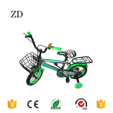 Hebei Zandi factory 12 14 16 18 20 stickers spiderman kids bicycle with back seats children sports mountain bike