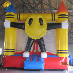 With EN 14960 certification factory price small bouncy castle,inflatable candle castle,inflatable candle bouncer for kids