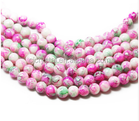 Wholesales jewelry glass pearls beads for decorations
