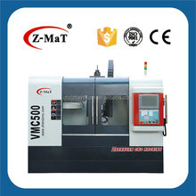 VMC500E - 3 axis linear motion guideway cnc milling machine vmc/cnc milling machine gsk controller for aluminum