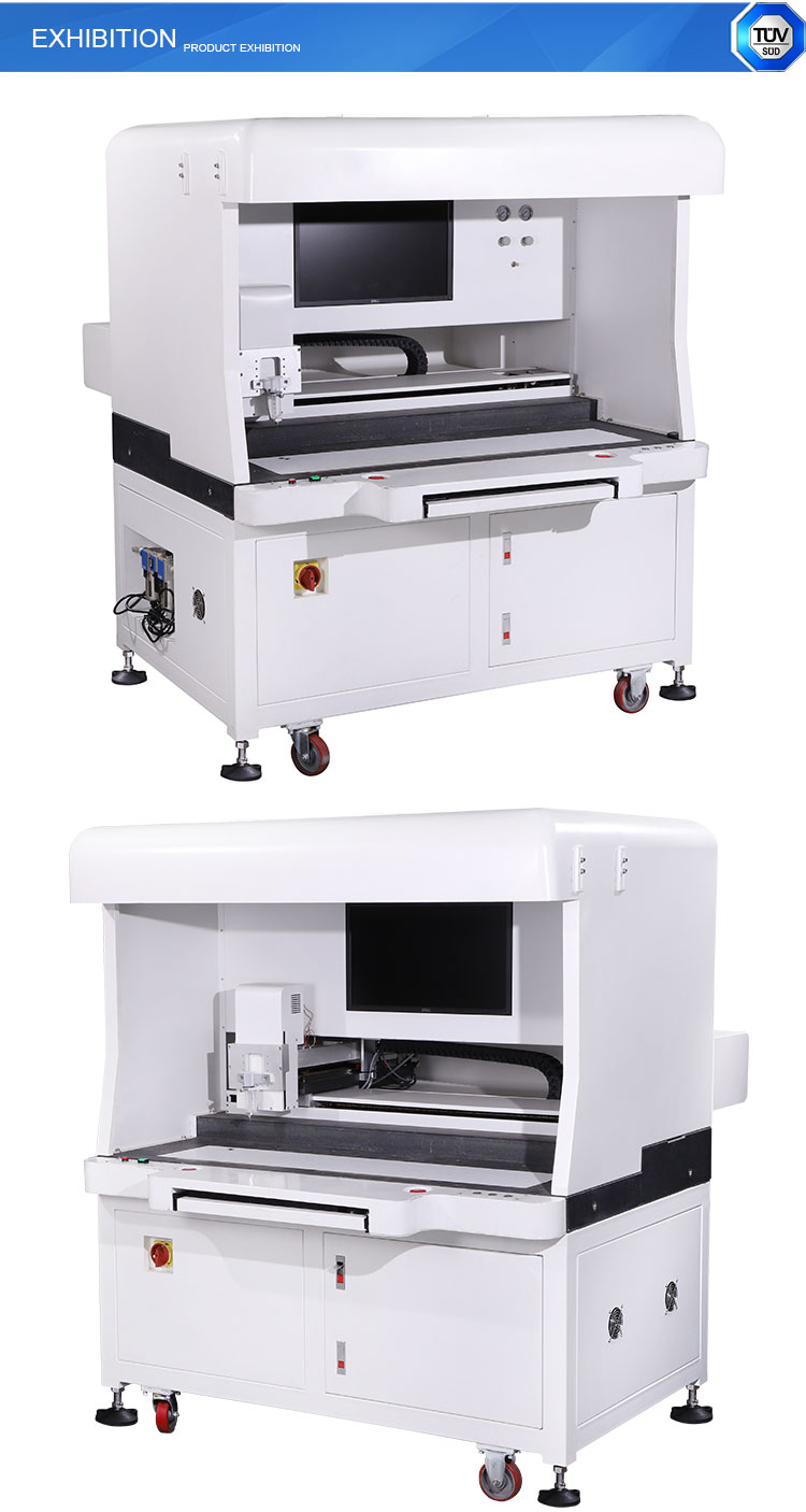 Jaten   Easy Programable CNC Vision Positioning Glue Dispensing Robot With 8-12 Color Automation Identification