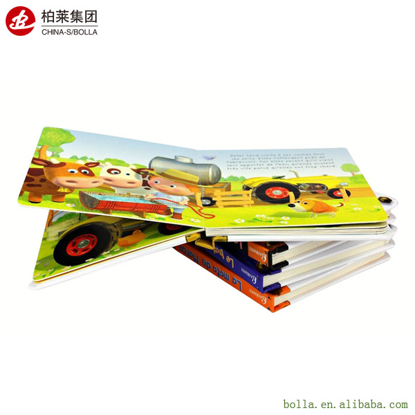 Printing Children Story Hard Board Book Children Cardboard Book Printing