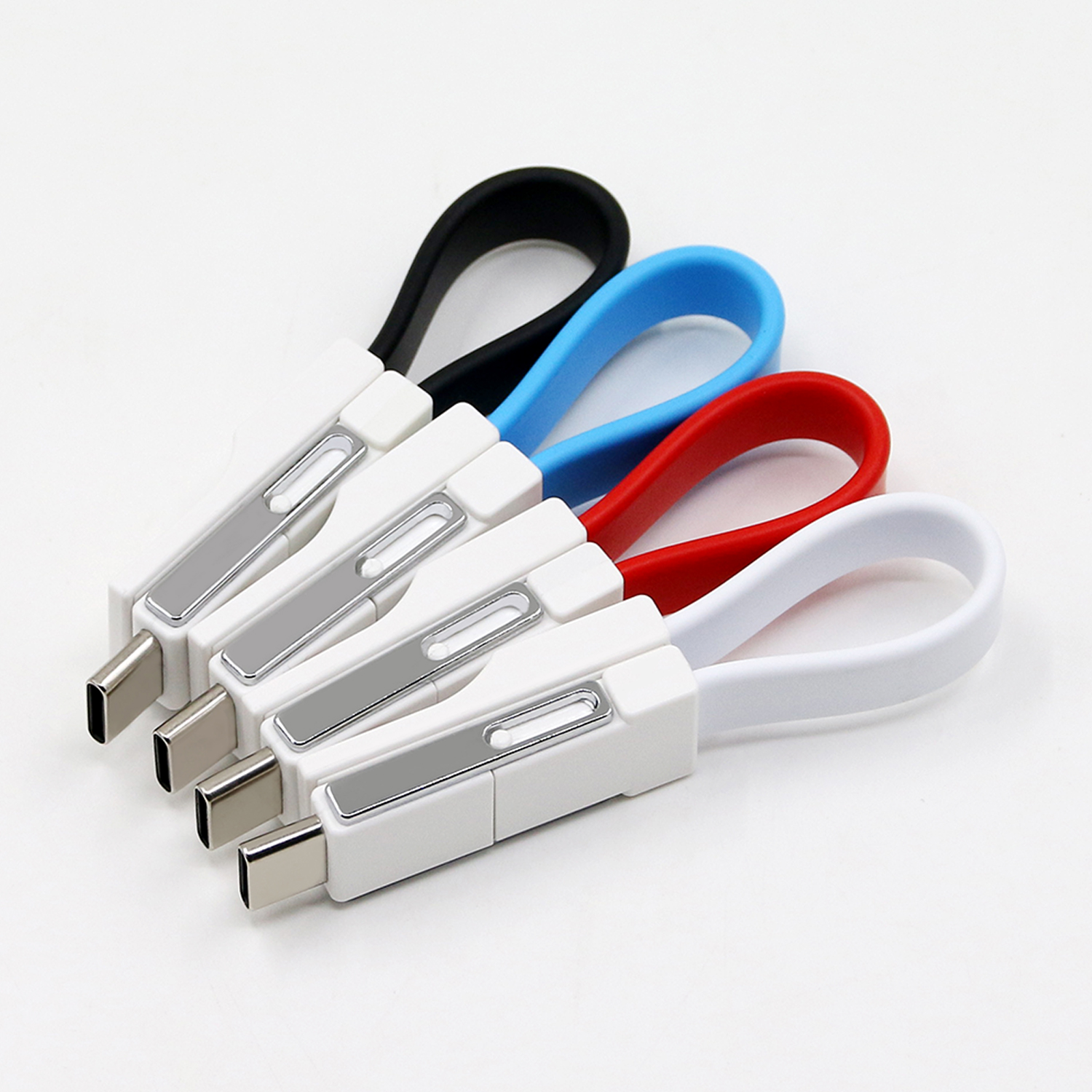 New Promotional Gift 3 In 1 Keyring Usb Cable Charging