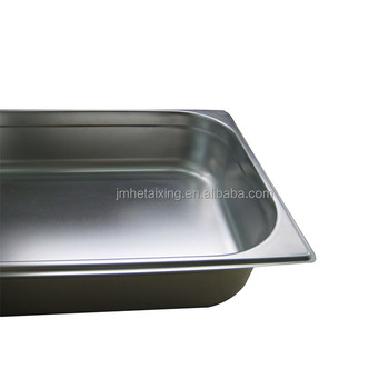Stainless steel commercial kitchen equipment Keep food warmer Buffet Pan