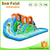 New Point top sale high quality inflatable Slide Twist With Pool
