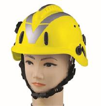 High Quality Customized Color Fire Fighting Safety Helmet with V Guard