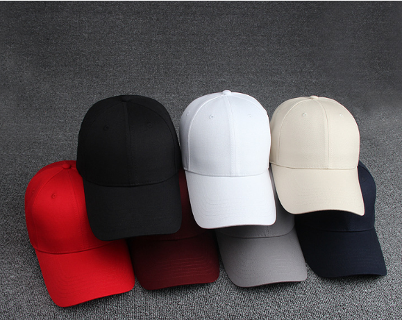 Men and Women plain caps oem logo baseball capes cotton embroidered baseball cap