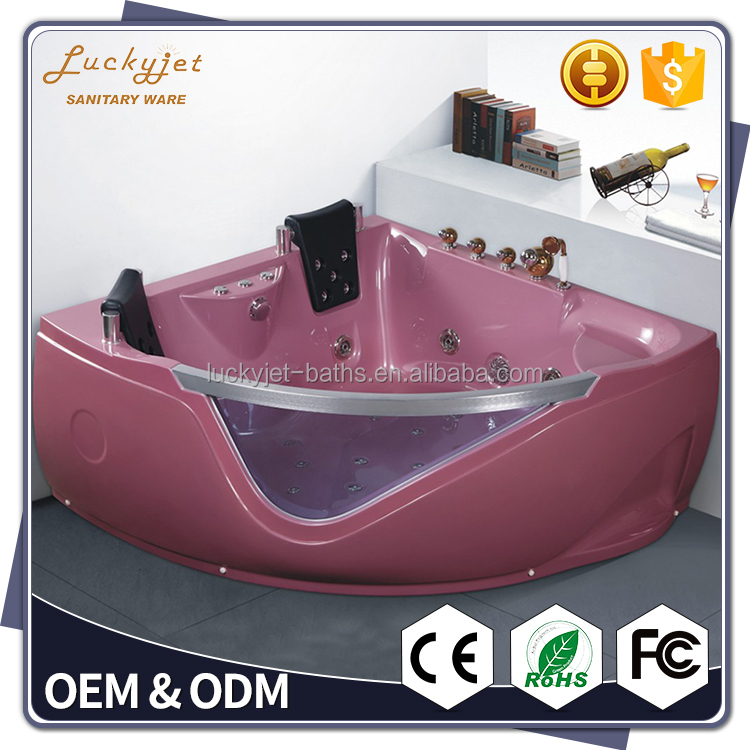 Suitable Spa Massage Bathtub With Towel Bar