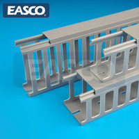 EASCO PVC Cabling Trunking 17 mm Wide Slotted