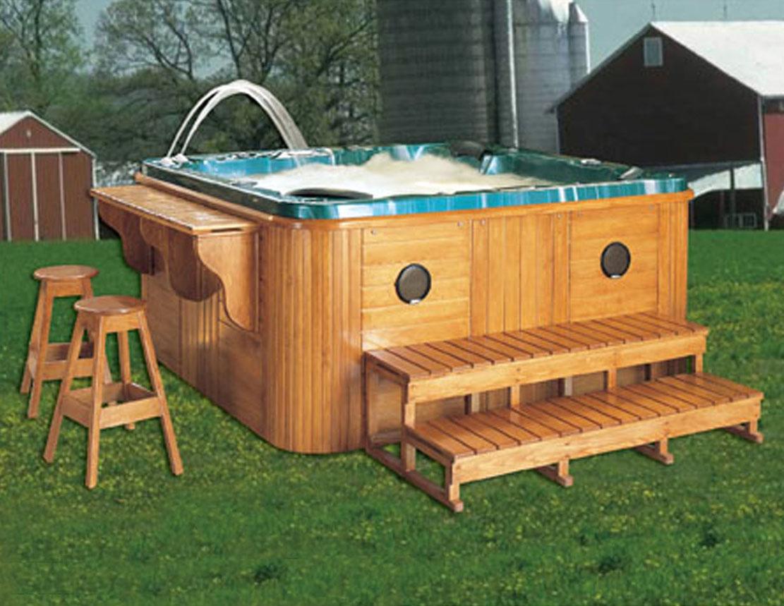 deluxe diseo outdoor spajacuzzi uso domstico de madera bathtub con jets de