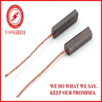 5x6.7x26 Carbon Brush for 12V 24V DC Generator of Automobile