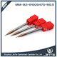 2 flute micro endmill for hardness HRC 55 Milling 1*70mm