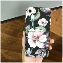 Hot Selling Retro Art Oil Painting flower Phone Case for iPhone 7 Plus