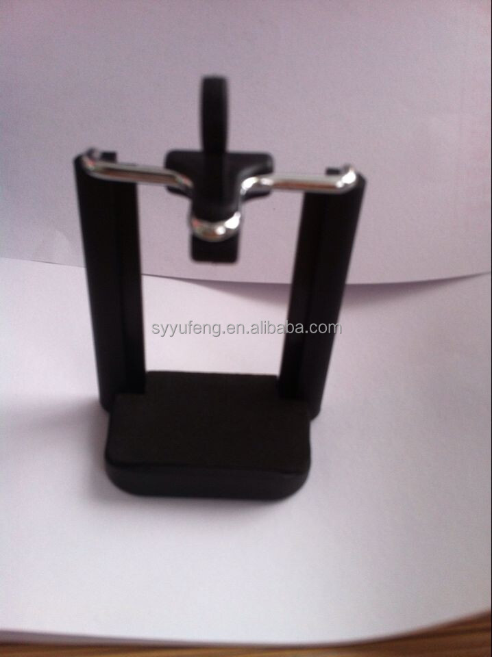 Black Metallic Flexible and Portable Tripod Stand Holder phone holder
