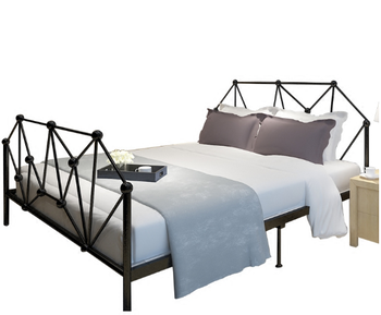 New innovative metal king size bed frame for bed room