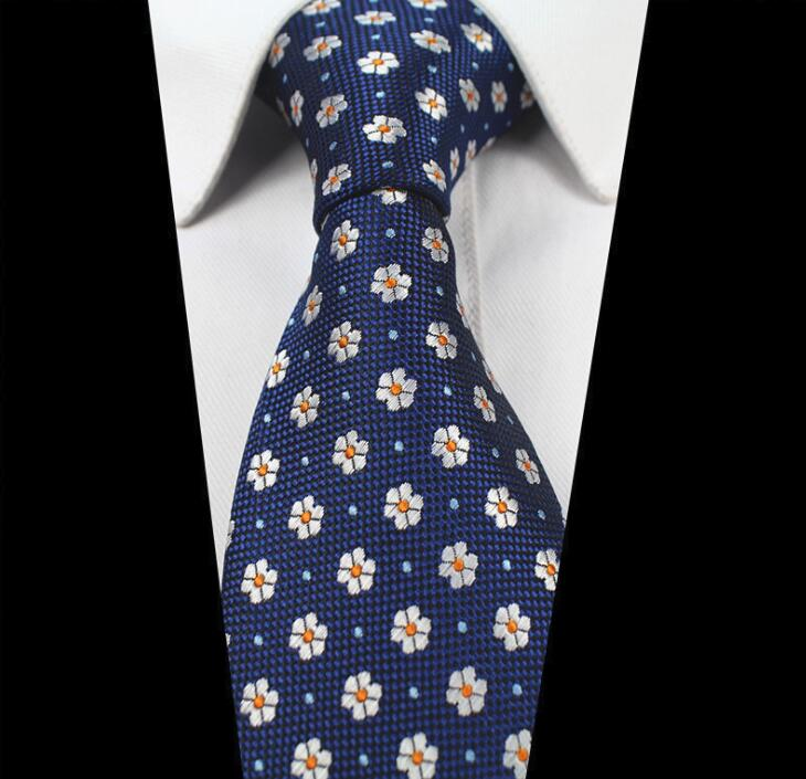 Fashion trend cheap 1200 pin 8cm handmade <strong>blue</strong> <strong>flower</strong> print <strong>tie</strong> GLXW0016