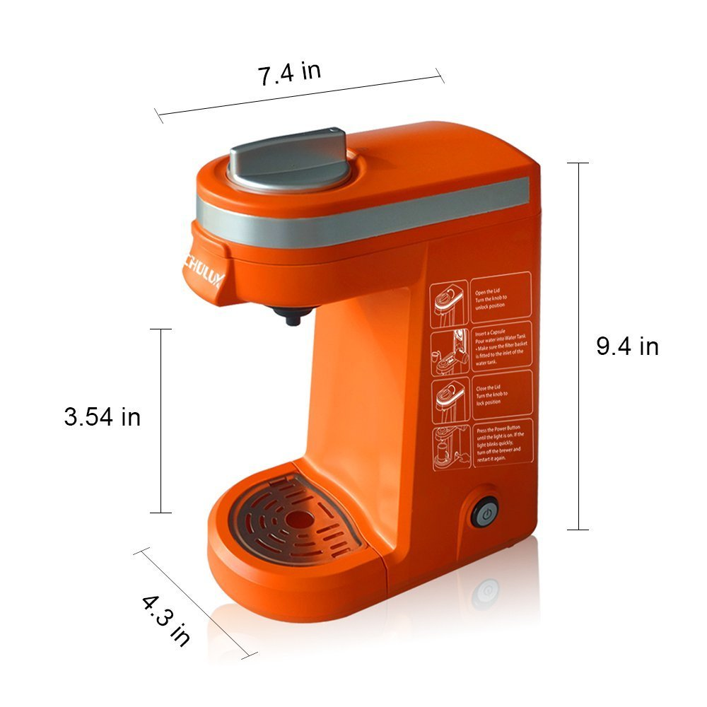 Chulux Mini Portable Multi K Capsule Mini Capsule Pod Coffee Makers