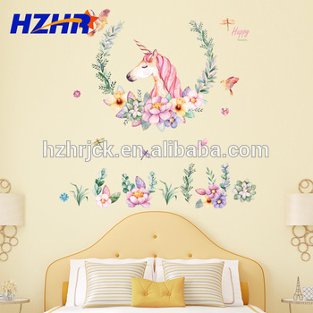 Unicorn Wall Decals Bedroom Wall Stickers Unicorn Living Room