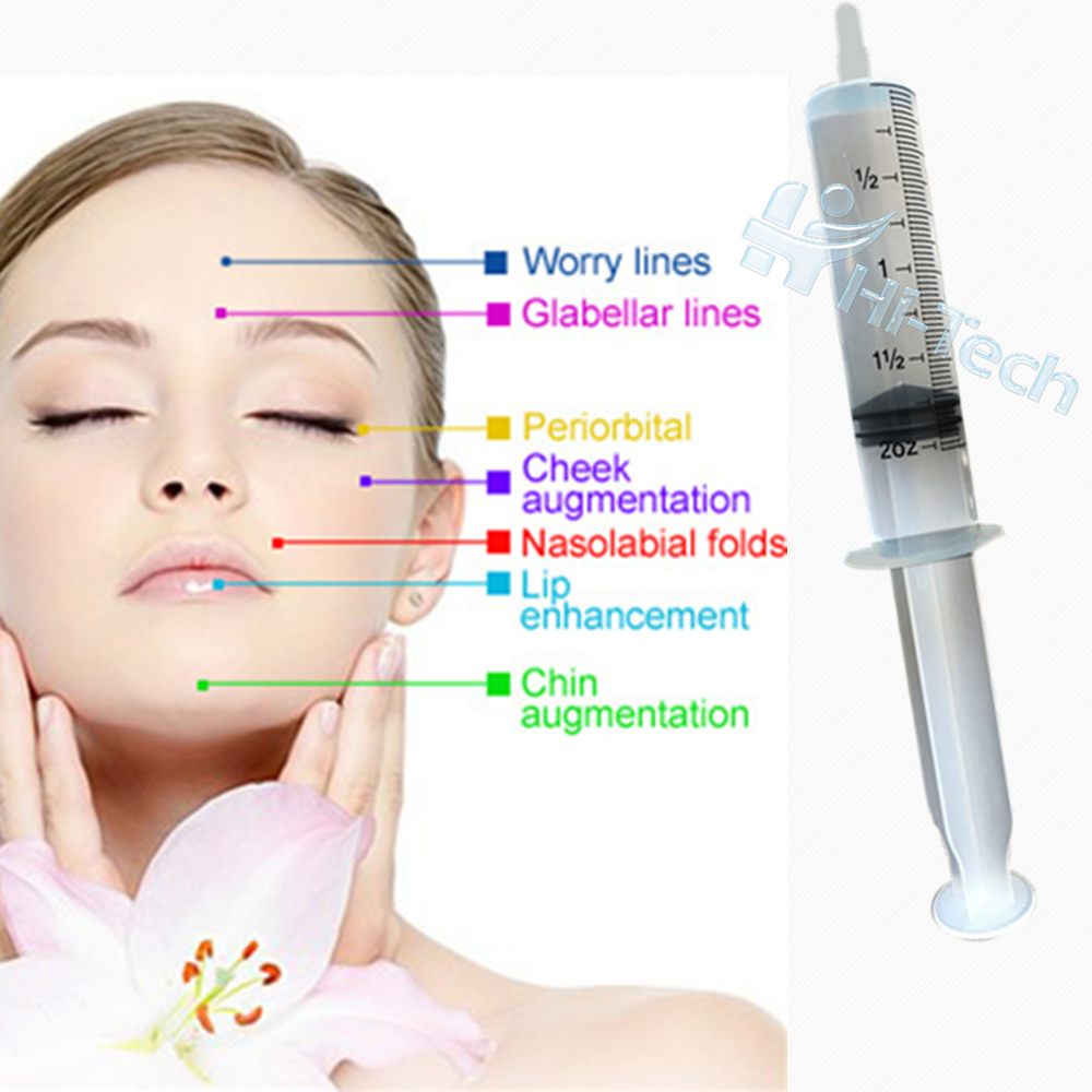 50ml Medical Surgery filler injections hyaluronic acid, Transparent