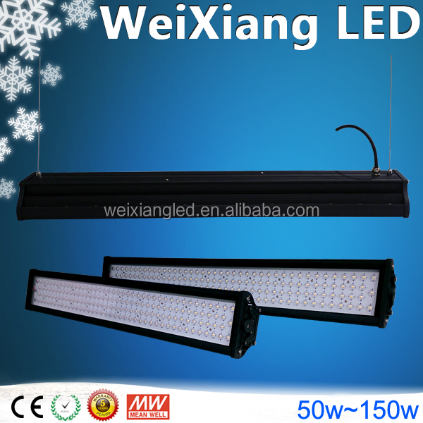 New product Ra>80 waterproof led linear trunking system with 7 year warranty