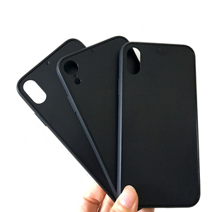 Applicable To Veneer Gluing Black Groove TPU PC Combo Sublimation Blank Phone Cover Case For iPhone X XS XR