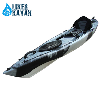 Angler4.0 fishing kayak with PC transparent cabin canoe