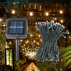 Holiday Living Outdoor Decorations Christmas Decoration Lights LED Solar String Light
