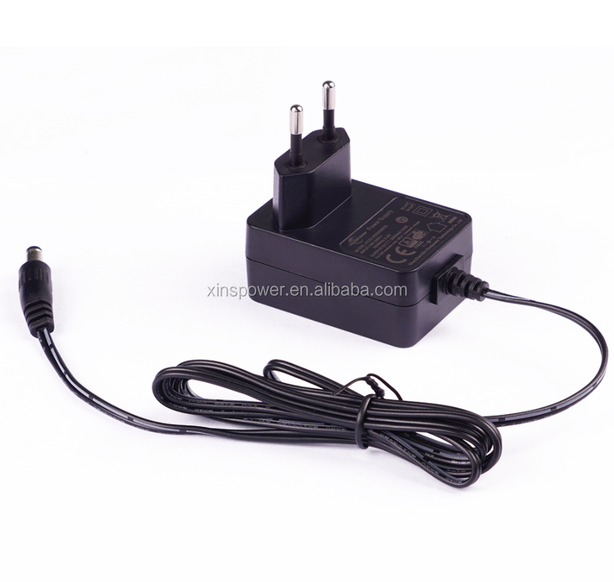 ac adapter with DC jack 12v 1A/1.5A/2A for led strip