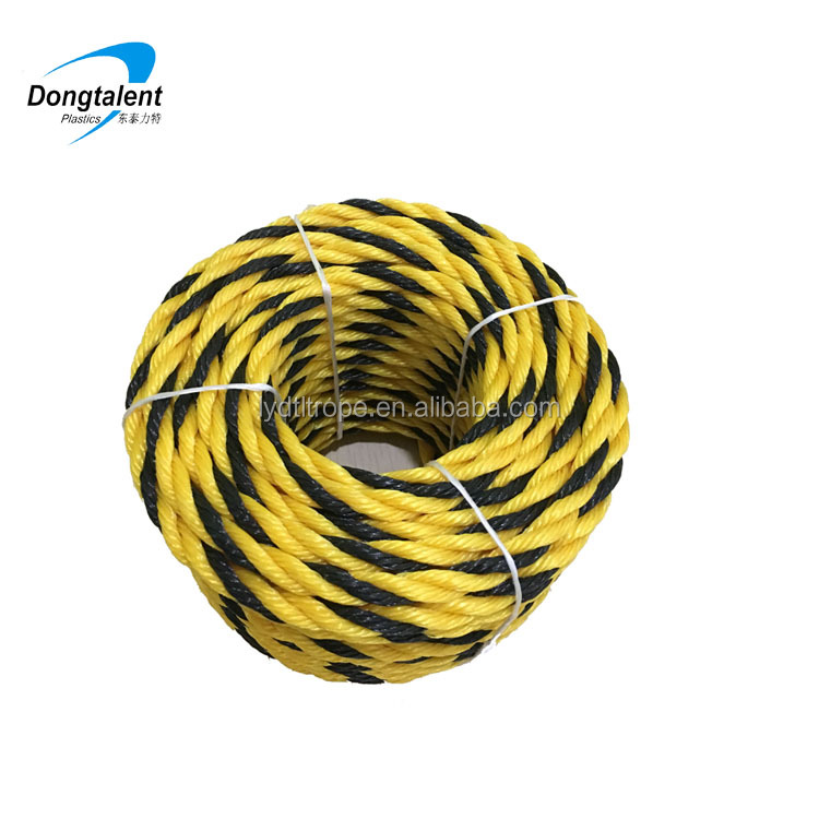 low priceTwist Type 3 strand plastic Tiger Ropes indonesia tiger fish