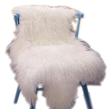 fashion Tibetan sheepskin rugs 100% real fur rug china supplier