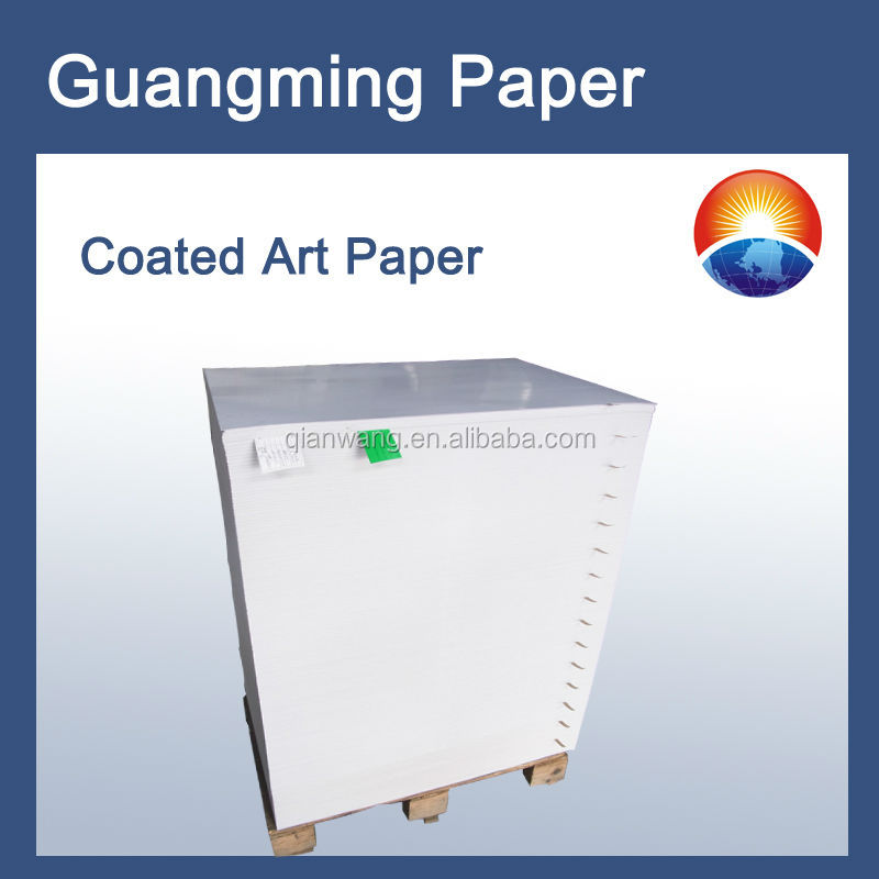 250gsm C2S art paper/counch paper/chromo art paper