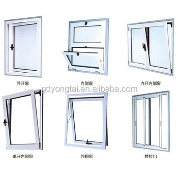 Aluminium Frame Top Hung Window/aluminum Profile Top-hung ...