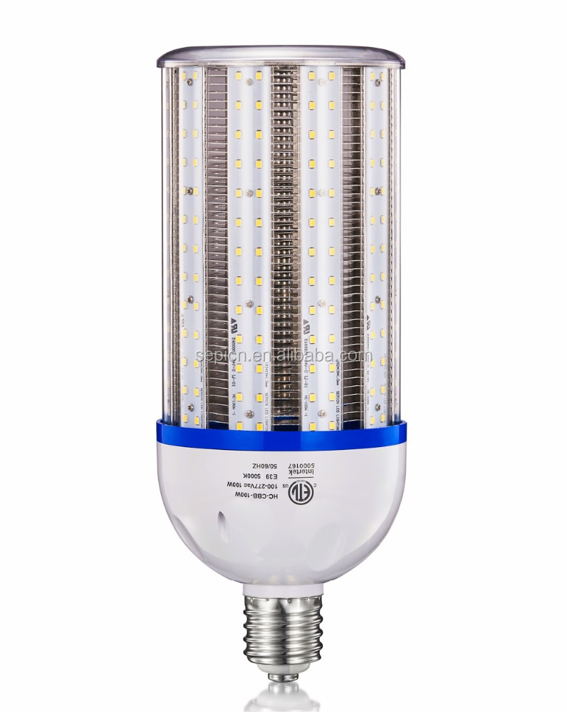 100W LED Corn COB Light Bulb E39 Mogul Base Retrofit Lamp Replaces MH400W
