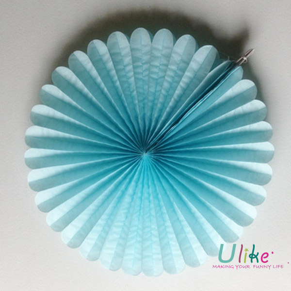 Creative paper fan source quality creative paper fan from global 20cm creative hanging tissue paper fans garland pompoms wedding backdrop reception decoration frozen party mightylinksfo