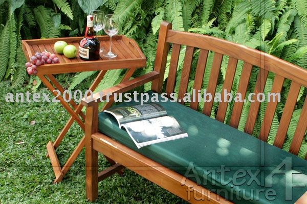 Teak Classic Bench for veranda and garden