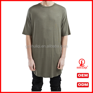 Good quality blank t-shirt dress for men with good quality /custom oversized t-shirt for men from China guangzhou H-2654
