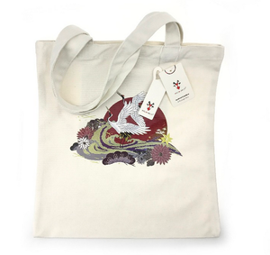 Customisable eco friendly standard size tote canvas bag with handle