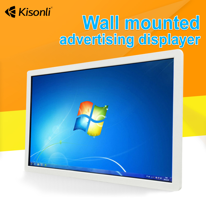 LED Commercial Advertising Display Screen ON Wall For Vending Display