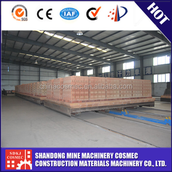 high efficiency low energy consumed Electric clay brick kiln