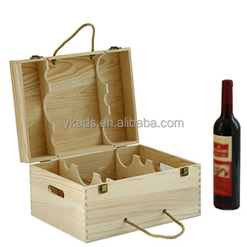Hard Case 6 Bottles Wooden Wine Box Buy 6 Wine Box 6 Wine Gift Box 6 Bottles Wooden Wine Box Product On Alibaba Com