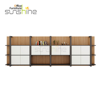Top Quality Office Furniture Metal Frame Wooden File Cabinet